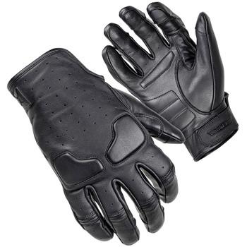 Cortech Slacker Short Cuff Women's Leather Gloves - Black