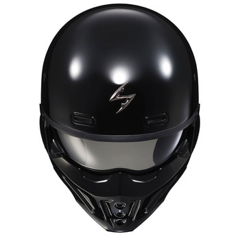 Scorpion Covert X Helmet - Black