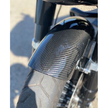 Slyfox Carbon Fiber Front Fender for 2014-2020 Harley Touring - Gloss