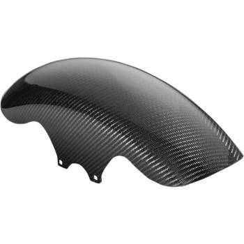 Slyfox Carbon Fiber Front Fender for 2014-2020 Harley Touring - Gloss