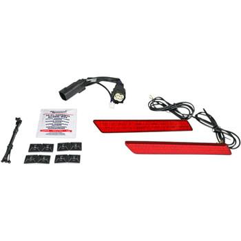 Custom Dynamics Saddlebag LED Latch Lightz for 2010 -2013 Harley FLHX/FLTRX