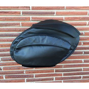 Leather Pros Retro Series Saddlebags for Harley Touring