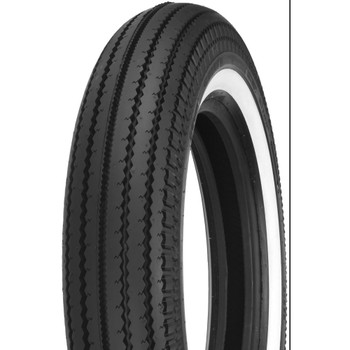 Shinko Super Classic 270 White Wall Front Tire - 4.00-19