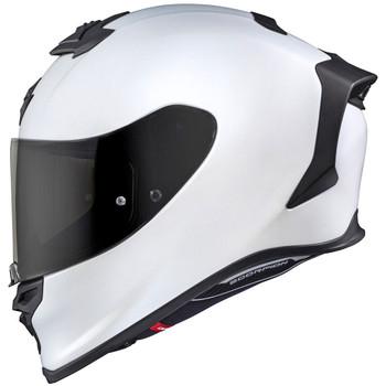 Scorpion EXO-R1 Helmet - Pearl White