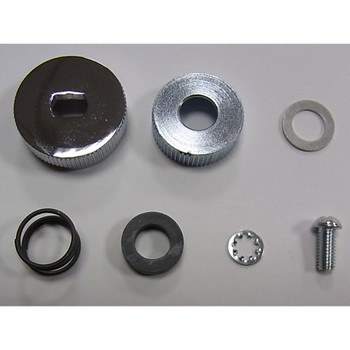 V-Twin Petcock Shut Off Rod Knob Kit for 1941-1965 Harley
