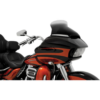 """Memphis Shades 10"""" Spoiler Windshield for 2015-2020 Harley Road Glide - Ghost"""