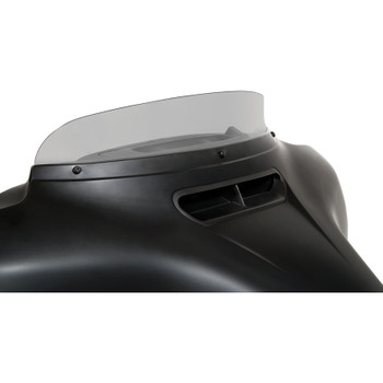 """Memphis Shades 3"""" Spoiler Windshield for 2014-2020 Harley Touring - Ghost"""