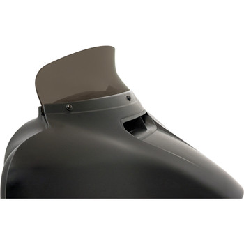 """Memphis Shades 4.5"""" Spoiler Windshield for 2014-2020 Harley Touring - Smoke"""