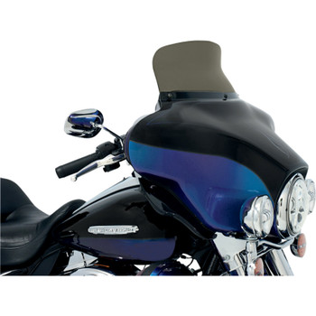 """Memphis Shades 6.5"""" Spoiler Windshield for 1996-2013 Harley Touring - Smoke"""