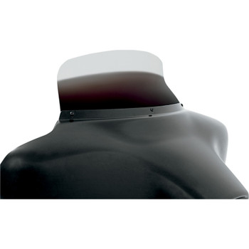 """Memphis Shades 6.5"""" Spoiler Windshield for 1996-2013 Harley Touring - Ghost"""