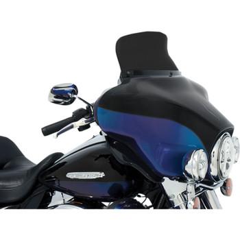 "Memphis Shades 6.5"" Spoiler Windshield for 1996-2013 Harley Touring - Dark Smoke"