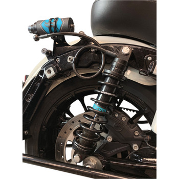 Legend Suspension ARC Remote Reservoir Mount for Harley