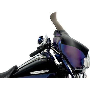 """Memphis Shades 9"""" Spoiler Windshield for 1996-2013 Harley Touring - Smoke"""