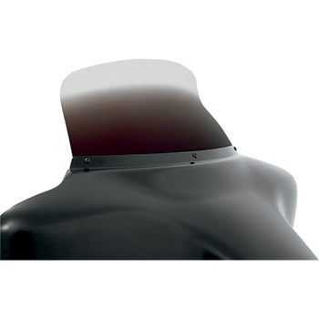 """Memphis Shades 9"""" Spoiler Windshield for 1996-2013 Harley Touring - Ghost"""