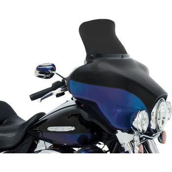 "Memphis Shades 9"" Spoiler Windshield for 1996-2013 Harley Touring - Dark Smoke"