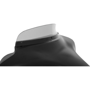 """Memphis Shades 3"""" Spoiler Windshield for 1996-2013 Harley Touring - Ghost"""