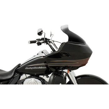 """Memphis Shades 8.5"""" Spoiler Windshield for 1998-2013 Harley Road Glide - Ghost"""
