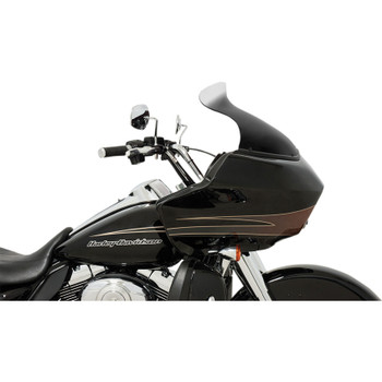 """Memphis Shades 10"""" Spoiler Windshield for 1998-2013 Harley Road Glide - Ghost"""
