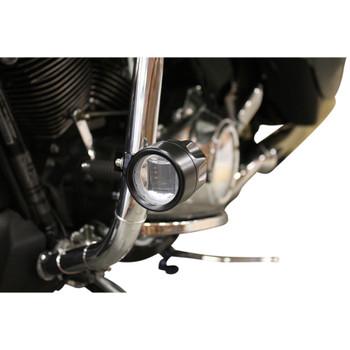 Custom Dynamics Probeam LED Halo Fog Lights for 2010-2013 Harley FLHX/FLTRX - Black