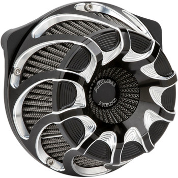 Arlen Ness Drift Inverted Air Cleaner for 2017-2020 Harley M8 - Black