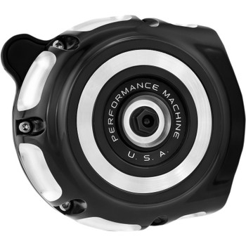 Performance Machine Vintage Air Cleaner for 2017-2020 Harley M8 - Contrast Cut