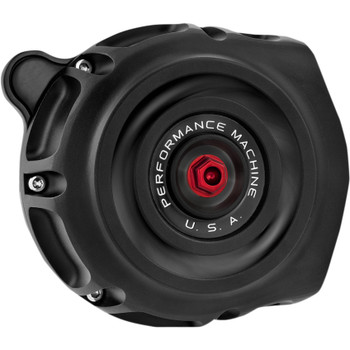 Performance Machine Vintage Air Cleaner for 2017-2020 Harley M8 - Black Ops