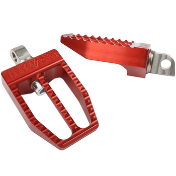 Thrashin Supply Militant Foot Pegs for Harley - Red