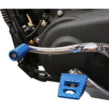 Thrashin Supply P-54 Foot Pegs for Harley - Blue