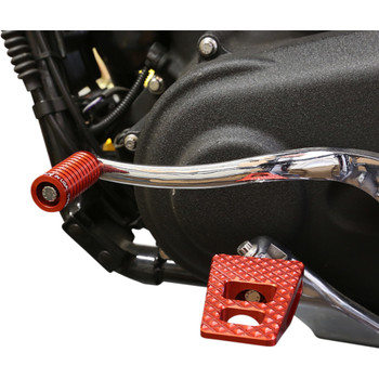 Thrashin Supply P-54 Foot Pegs for Harley - Red
