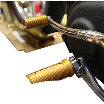 Thrashin Supply Canyon Foot Pegs for Harley - Gold
