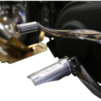 Thrashin Supply Canyon Foot Pegs for Harley - Raw Silver
