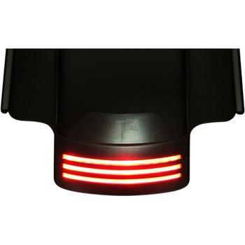 Custom Dynamics Probeam Dual Intensity LED Tribar for 2014-2020 Harley Touring - Smoke
