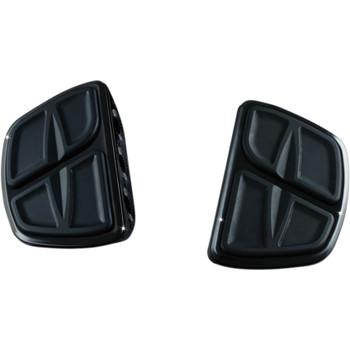 Kuryakyn Kinetic Mini Boards Foot Pegs - Gloss Black
