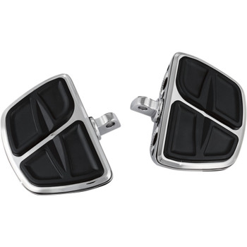 Kuryakyn Kinetic Mini Boards Foot Pegs for Harley - Chrome