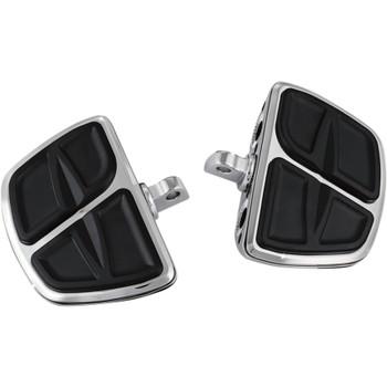 Kuryakyn Kinetic Mini Boards Foot Pegs for Harley - Chrome