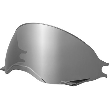 Bell Broozer Face Shield - Silver Iridium