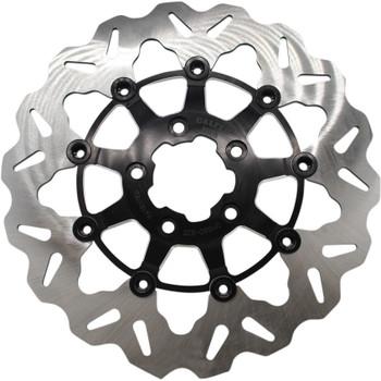 "Galfer 11.8"" Full-Floating Wave Front Brake Rotor for 2008-Up Harley* - Contrast"