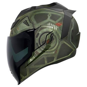 Icon Airflite Helmet - Blockchain Green