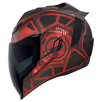 Icon Airflite Helmet - Blockchain Red