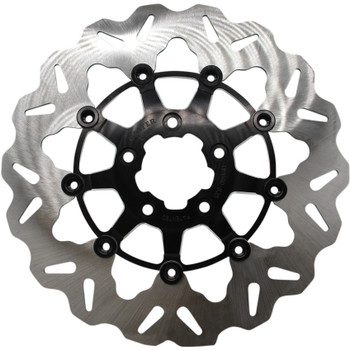 "Galfer 11.5"" Full-Floating Wave Front Brake Rotor for 2000-2014 Harley* - Contrast"