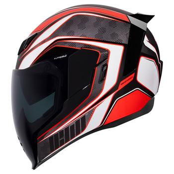 Icon Airflite Helmet - Raceflite Red