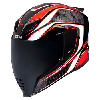 Icon Airflite Helmet - Raceflite Red