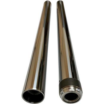 """Pro-One 39mm Fork Tubes for Harley 26.25"""" - Chrome"""