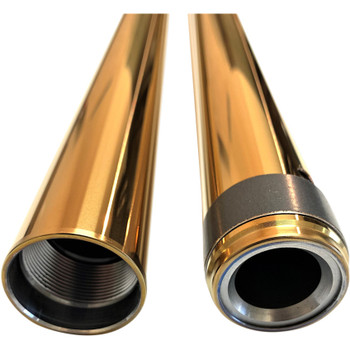 "Pro-One 39mm Fork Tubes for Harley 24.25"" - Gold"