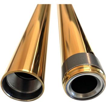 "Pro-One 39mm Fork Tubes for Harley 24.25"" - Gold"