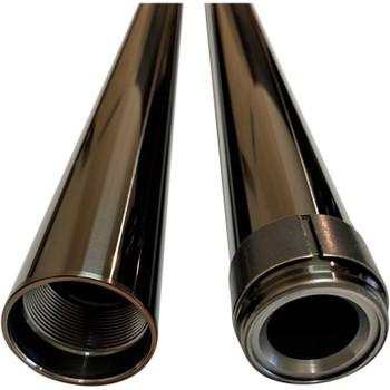 """Pro-One 39mm Fork Tubes for Harley 26.25"""" - Black"""