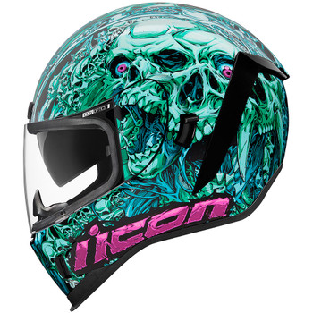 Icon Airform Helmet - Parahuman Blue