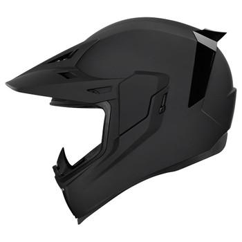 Icon Airflite Moto Helmet - Rubatone Black