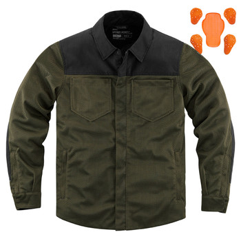 Icon Upstate Riding Shirt - Olive
