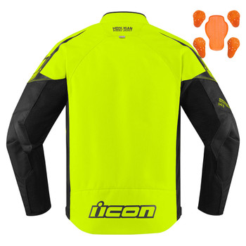 Icon Hooligan Jacket - Hi-Viz